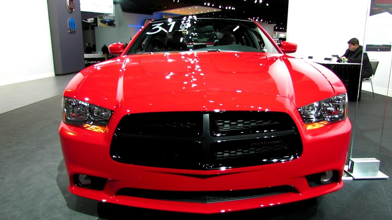 2014 Dodge Charger   Exterior And Interior Walkaround   2014 Detroit Auto  Show   YouTube