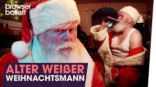 Alter weißer Weihnachtsmann
