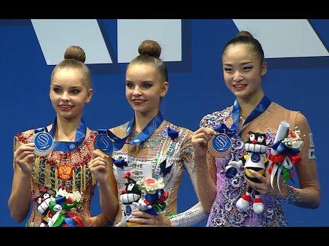 世界新体操 皆川夏穂が42年ぶり個人メダル