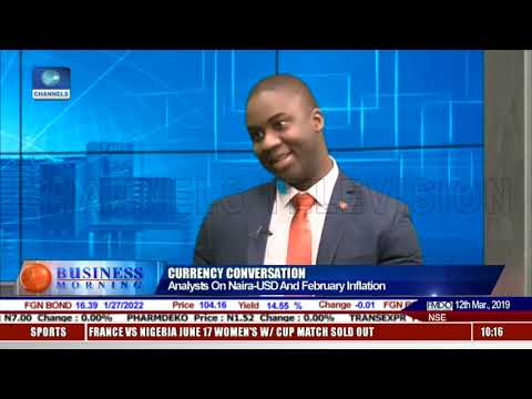 Channels TV interview with Lukman Otunuga | 12/03/2019