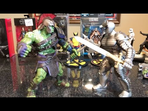 Episode 209  TOY HAUL FROM MY COLLAB with JOSH PENCE! MARVEL SELECT GLADIATOR HULK CASE!