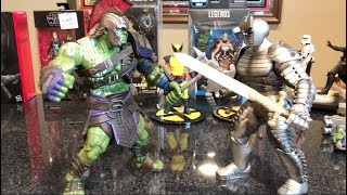 Episode 209 - TOY HAUL FROM MY COLLAB with JOSH PENCE! MARVEL SELECT GLADIATOR HULK SHOWCASE!