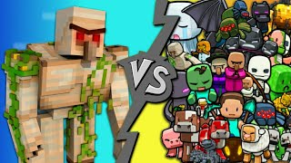 golem-vs-all-mobs-minecraft