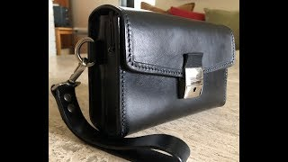 The Wrist Bag, or Men's Leather Clutch by Sicorium Leather, Transylvania