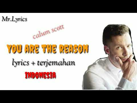 You Are The Reason Lirik Dan Terjemahan | Calum Scott |