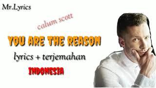 Download You are the reason lirik dan terjemahan | calum scott |