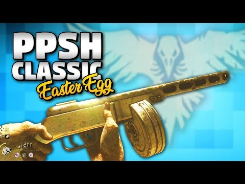"""FINALLY!!!! THE FROZEN DAWN: CLASSIC PPSH """"EASTER EGG"""" TUTORIAL / GUIDE /STEPS (WW2 Zombies DLC4)"""