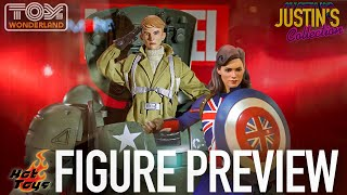 Hot Toys Captain Carter & Hydra Stomper Steve Rogers Marvel's What If - Figure Preview Episode 122