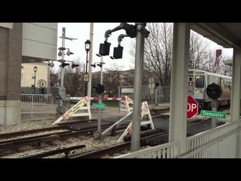 CTA YellowLine Dempster-Skokie to Howard Station