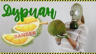 Дуриан: нюхаем, режем, пробуем. Какой он на самом деле, Король фруктов?! #durian