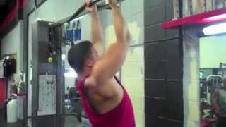 SxS - Weighted Pull Ups - Nick Wright