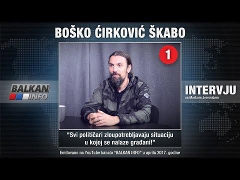 INTERVJU: Škabo - Uvek podržavam proteste, Vučić je diktator koga podržavaju imbecili! (21.04.2017)