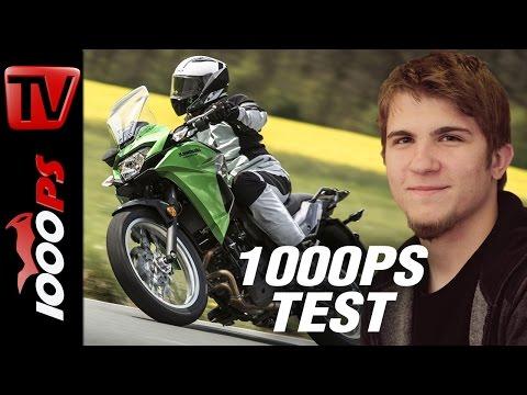 1000PS Test - Kawasaki Versys-X 300 - Ins Abenteuer mit Gebrüll