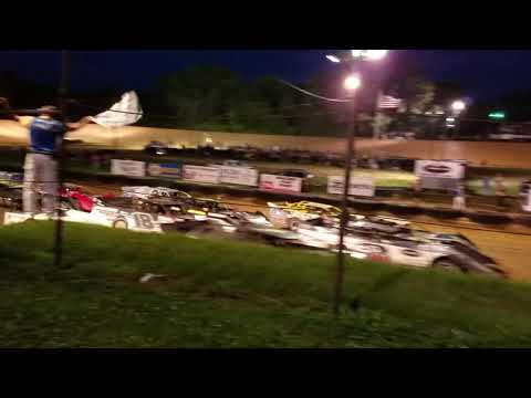 4 wide Summer nationals at spoon river speedway