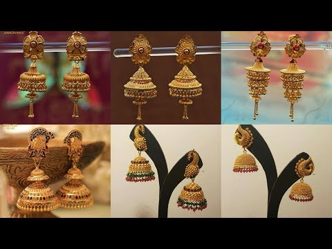 Latest Gold JHUMKA Designs Huge Collection