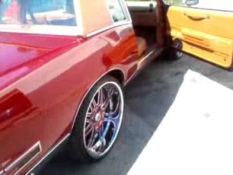 Kandy Red Pontiac Grand Prix on 24 inch Asantis by Skins Customs (Jazzie)
