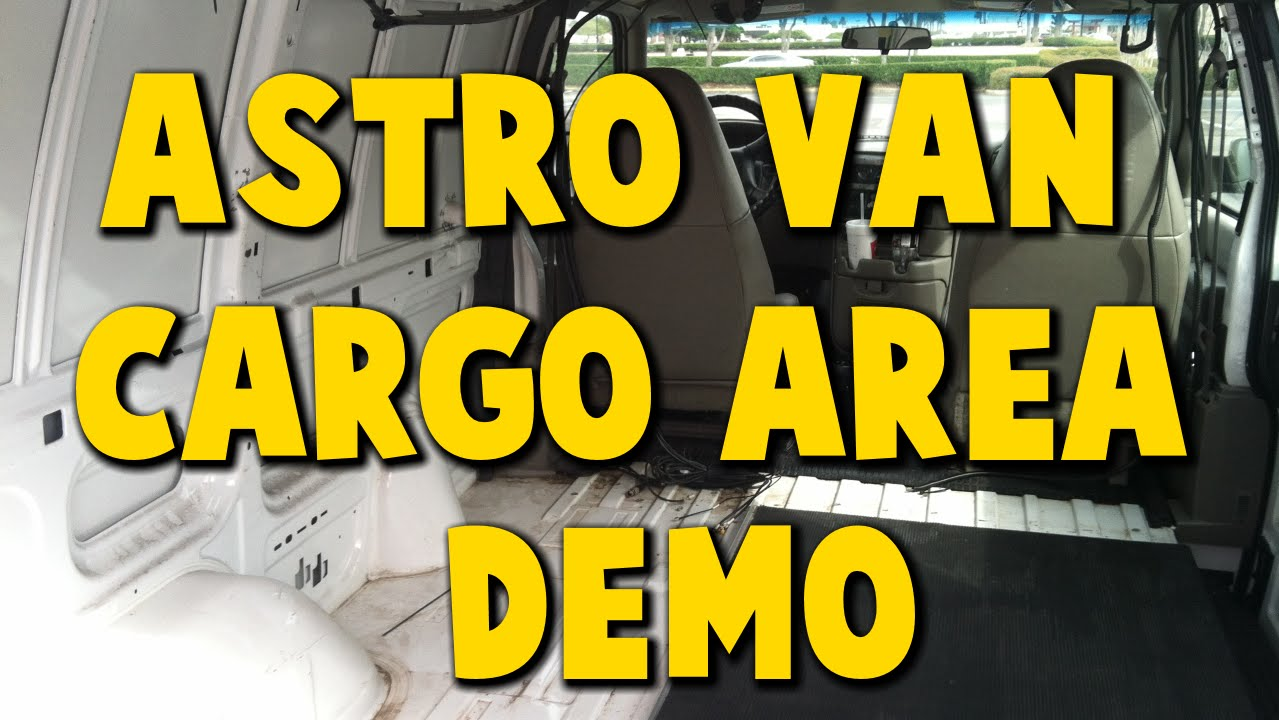 Astro Van Pre-Camper Build Interior Shelving Partition ...