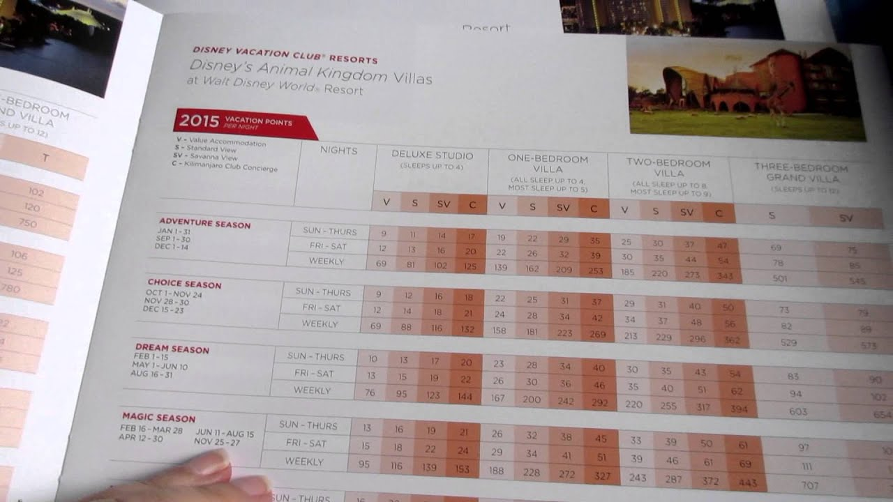 Disney Vacation Club Cost