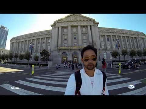 War Memorial Opera House & San Francisco City Hall en San Francsico, Califronia