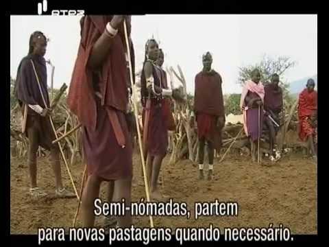 Odisseia Tribal : Povo Maasai - Povos Africanos (Legendado PT)