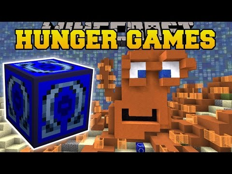 Minecraft: AQUARIUM HUNGER GAMES - Lucky Block Mod - Modded Mini-Game