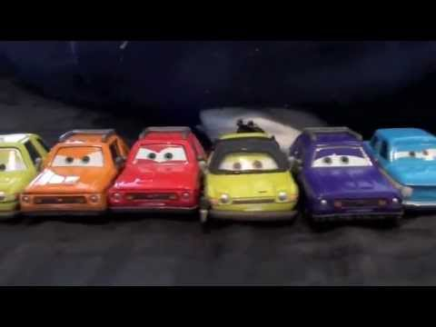 Disney Pixar Cars 2 Collection The Lemons The Bad Guys Youtube