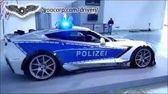 Polizei-Corvette Z06