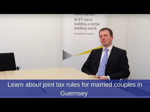 Moving to Guernsey? Learn about joint tax rules for married couples