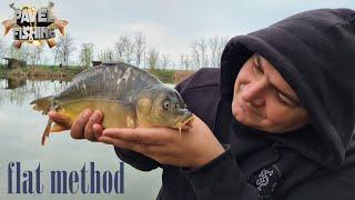 Ловля крапа на ФЛЭТ ФИДЕР Flat Method Feeder РЫБАЛКА ВЕСНА 2021 Рыбалка ранней весной