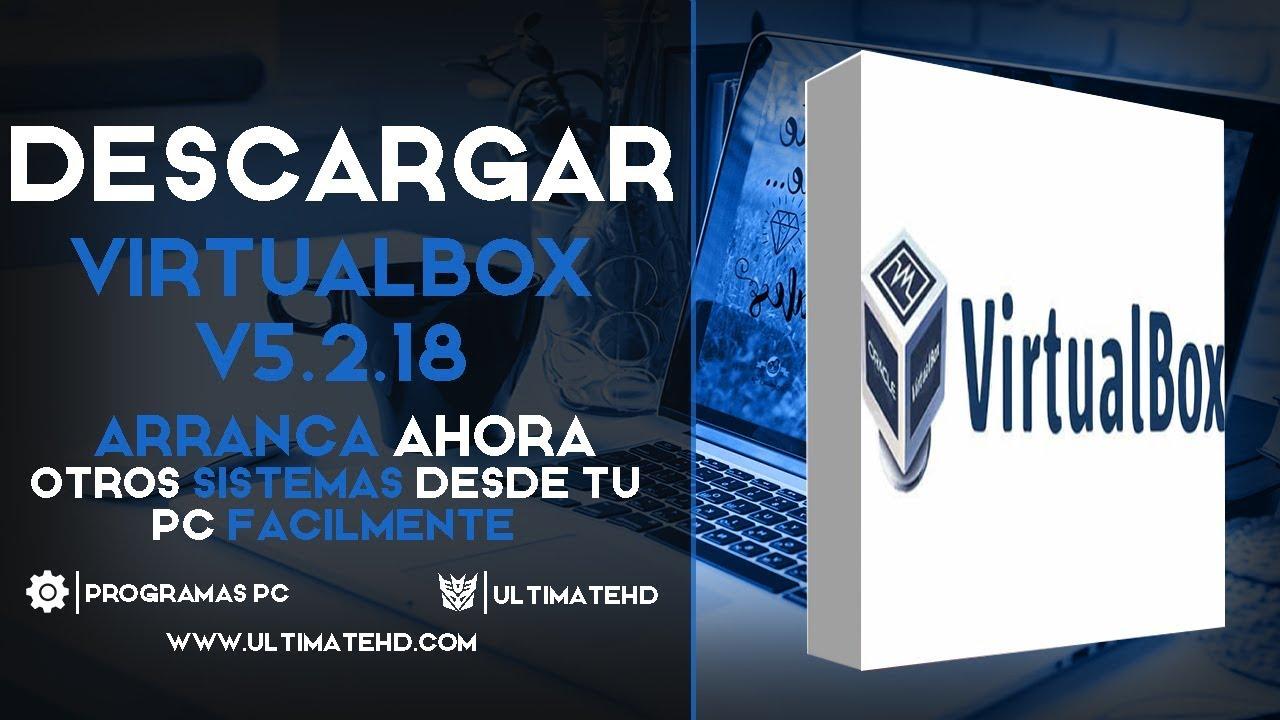 descargar virtualbox gratis full español