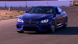 CNET On Cars - BMW's M6 Gran Coupe: Going fast in a four-door