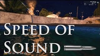 ArmA 3 - Speed of Sound Mod Showcase - Realistic Sound Mod (1080p)