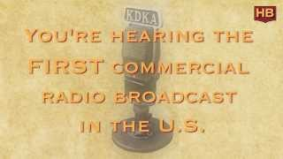 Nov 2, 1920: First Commercial Radio Broadcast in the U.S.