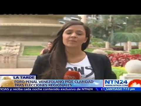 """Foro Penal Venezolano exige """"claridad y honestidad"""" a la diligencia política venezolana"""