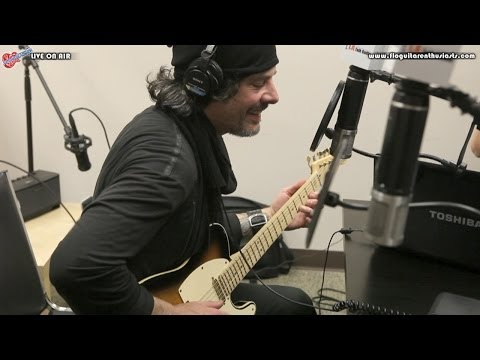 Richie Kotzen Discussing and Playing I'm No Angel by The Winery Dogs