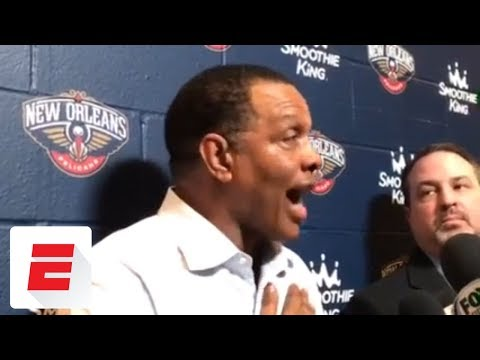 New Orleans Pelicans coach Alvin Gentry heated about lack of foul calls | ESPN
