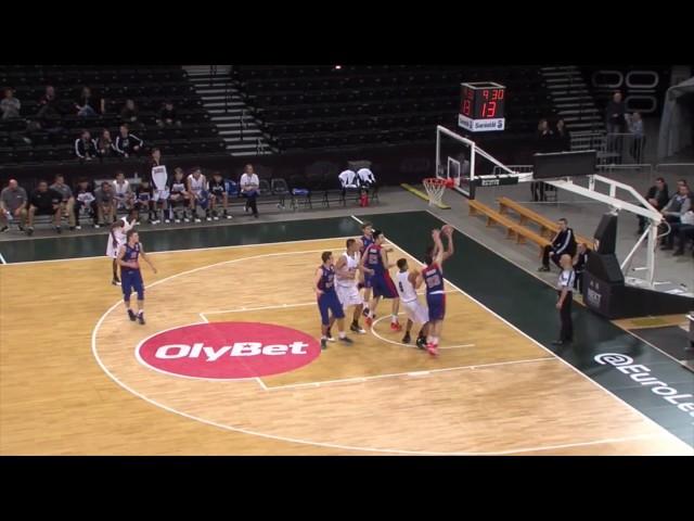Canarias Basketball Academy | 12 rebotes de Shengzhe Li contra CSKA