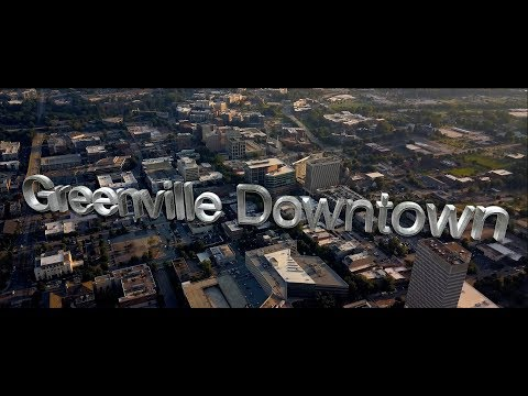 Greenville, SC Downtown Promo Awesome 4K Video #yeahTHATgreenville