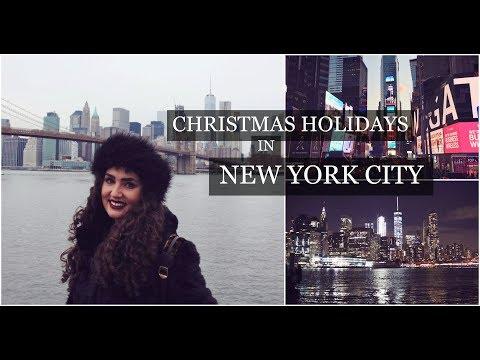 Christmas in New York City | NYC Travel Vlog December 2016