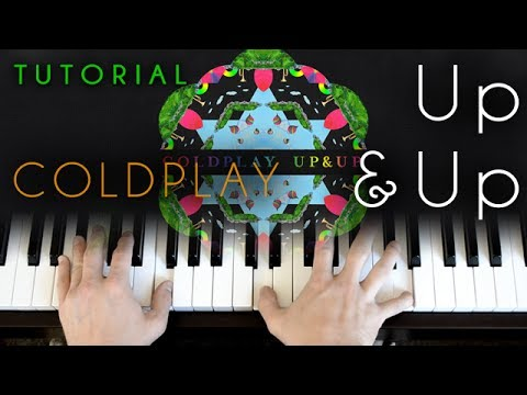 Up & Up  Coldplay piano tutorial