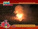 Alamo Fireworks-#005 10/200 Big Shot Flash Firecrackers