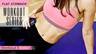 Flat Stomach Workout Series | Workout 5 | 8 Minute Tabata & Tone