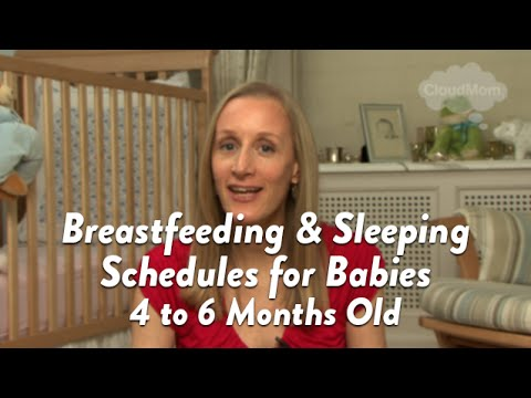 Breastfed Baby Schedule: 4-6 Months | CloudMom thumbnail