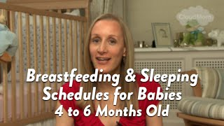 Breastfed Baby Schedule: 4-6 Months | CloudMom