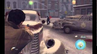 Mafia 2 - gameplay PhysX maxed out - max settings