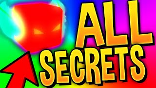 (2019) BUBBLE GUM SIMULATOR ALL SECRETS AND TRICKS! -Roblox