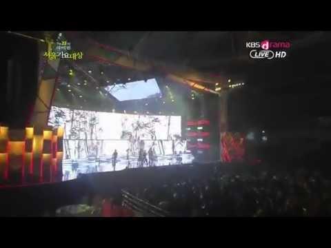 2NE1 - I LOVE YOU (HIGH1 22ND SEOUL MUSIC AWARDS LIVE) [HD]