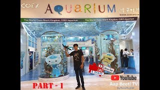 COEX Aquarium (Part - 1) Seoul…