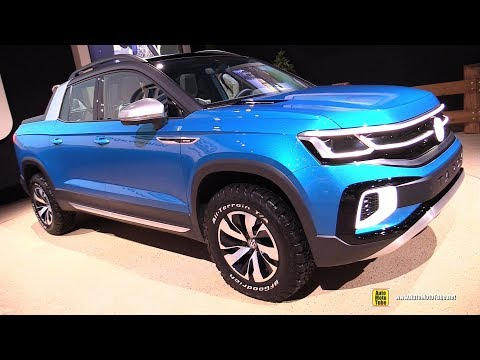 Volkswagen Tarok Pick up Concept - Exterior and Interior Walkaround - 2019 NY Auto Show