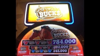 "CHG SLOTS - $0.02CENTS  on ""BRONCO BUCKS"" LIVE PLAYS at CHOCTAW DURANT PART 4- 4"